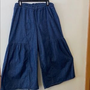 CP Shades Jean wide leg Pant ( Anthropologie)